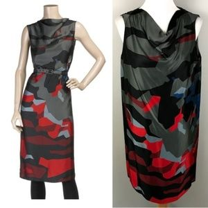 Marc Jacobs Abstract Floral Print Dress 2